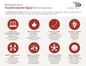Beneficios de la Transformación Digital