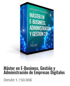 E-Business, Gestión y Administración de Empresas Digitales
